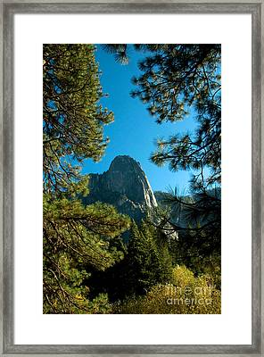 Sentinel Dome, Yosemite Np Framed Print by Mark Newman