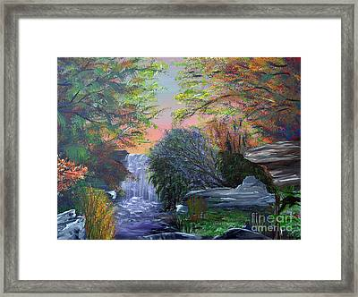 September Reverie Framed Print by Alys Caviness-Gober