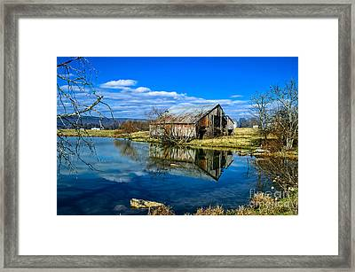 Sequatchie Valley Barn Framed Print