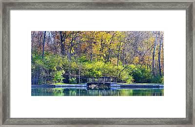 Sequiota Park Framed Print by Deena Stoddard