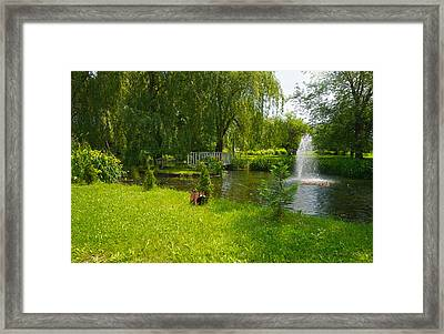 Serenity Framed Print by Kelly Nelson