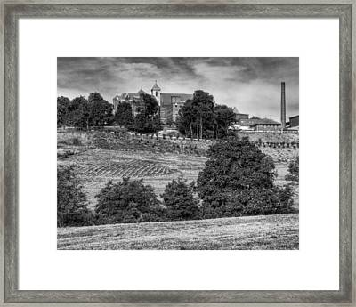 Seton Hill College Framed Print by Coby Cooper