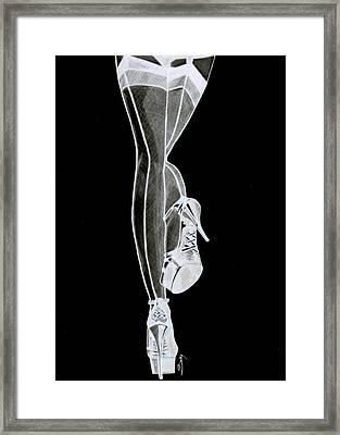 Sexy Legs Framed Print