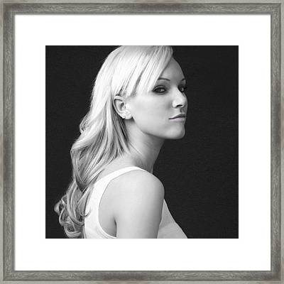 Framed Print featuring the photograph Sexy by Matthew Ahola
