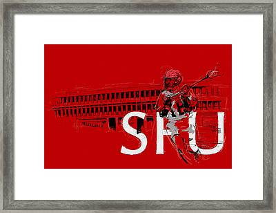 Sfu Art Framed Print by Catf
