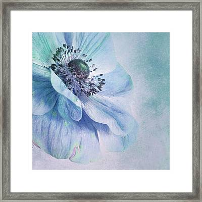 Shades Of Blue Framed Print by Priska Wettstein