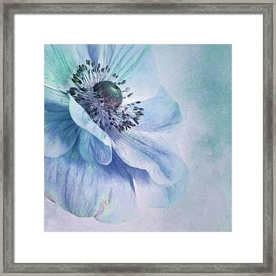Shades Of Blue Framed Print by Priska Wettstein
