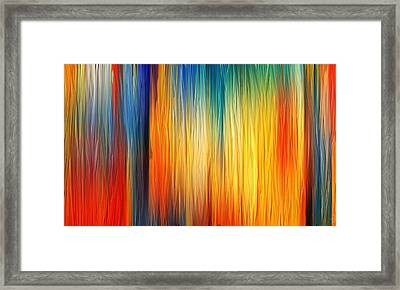 Shades Of Emotion Framed Print