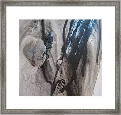 Shades Of Grey 3 Framed Print