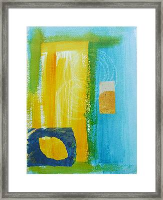 Shades Of Summer Framed Print by Katherine Sands