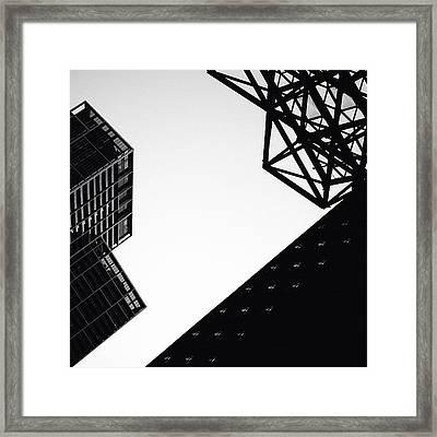Shadows - Miami Framed Print