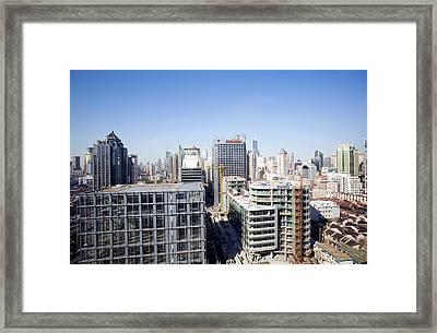 Shanghai Framed Print by Adam Hart-davis/science Photo Library