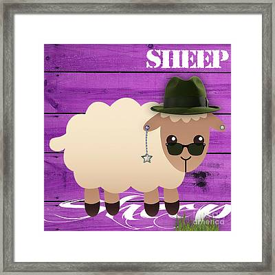 Sheep Collection Framed Print