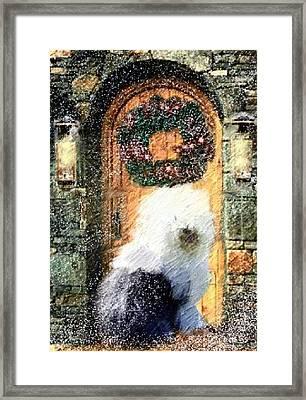 1 Sheepdog Framed Print