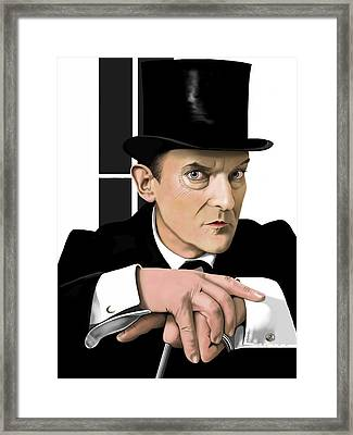 Sherlock Holmes Framed Print by Andrew Harrison