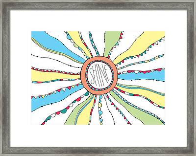 Shine Framed Print by Susan Claire