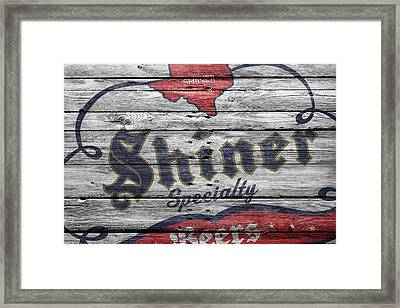 Shiner Specialty Framed Print