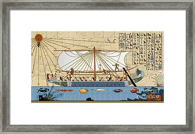 Ship Of Fools Framed Print