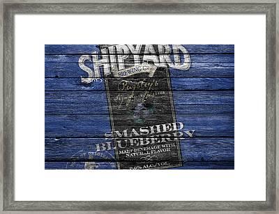 Shipyard Brewing Framed Print by Joe Hamilton