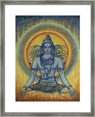 Shiva Framed Print by Vrindavan Das