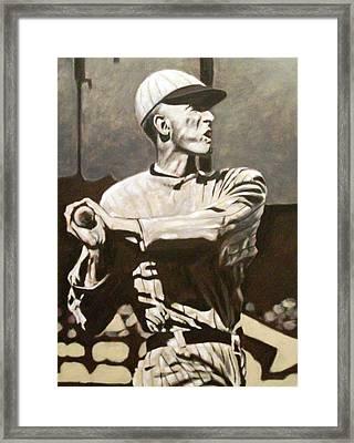 Shoeless Framed Print by Paul Smutylo