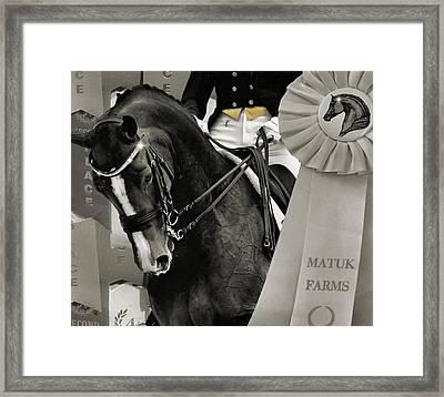 Show Sparkle Framed Print by JAMART Photography