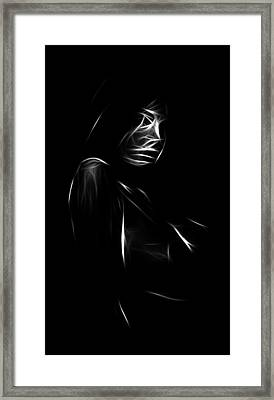 Shy Girl Framed Print by Steve K