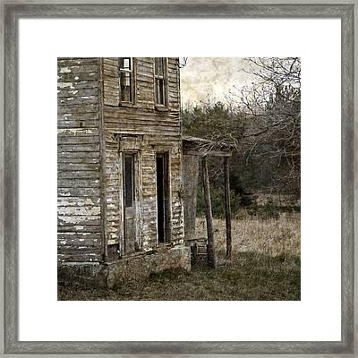 Side Porch Framed Print