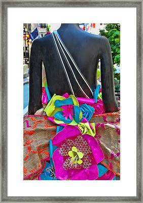 Sidewalk Catwalk 10 Framed Print by Allen Beatty