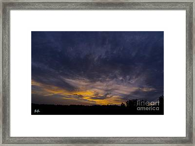 Framed Print featuring the photograph Silence Is Golden by Geri Glavis