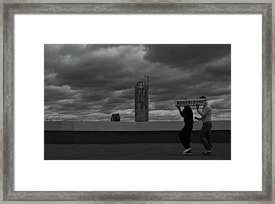 Silent Musical Work Framed Print by Evgeniy Lankin