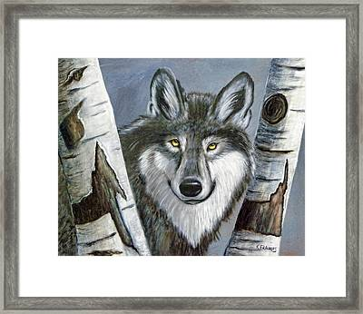 Silent Watcher Framed Print by Kenny Francis