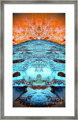 Silo Abstract Framed Print