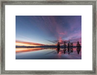 Silver Moon Framed Print by Jon Glaser