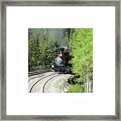 Silverton-durango Steam Engine Framed Print by Jack Pumphrey