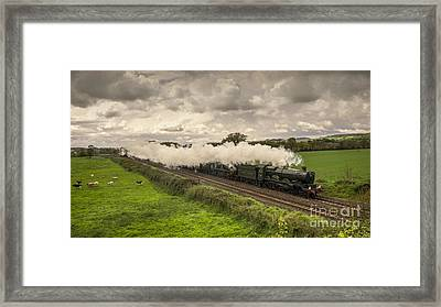 Silverton Steam  Framed Print