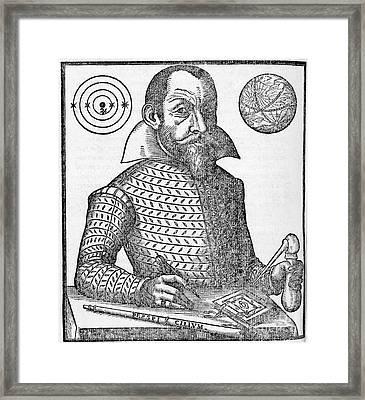 Simon Marius, German Astronomer Framed Print