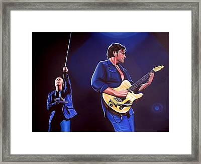 Simple Minds Framed Print