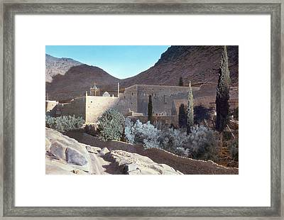 Sinai Monastery Framed Print