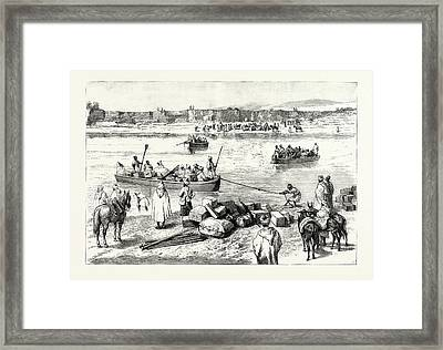 Sir Charles Euan Smiths Mission To The Court Of Morocco Framed Print by Moroccan School