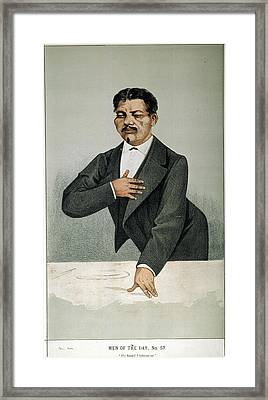 Sir Henry Morton Stanley (1841-1904) Framed Print