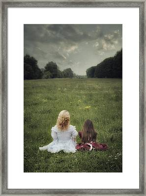 Sisters Framed Print by Joana Kruse