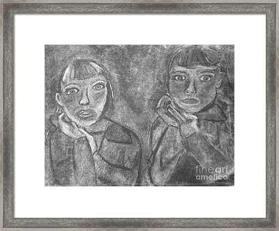 Sisters Framed Print by Khristin Kelly