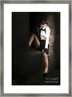 Sitting In The Shadows Framed Print by Jorgo Photography - Wall Art Gallery