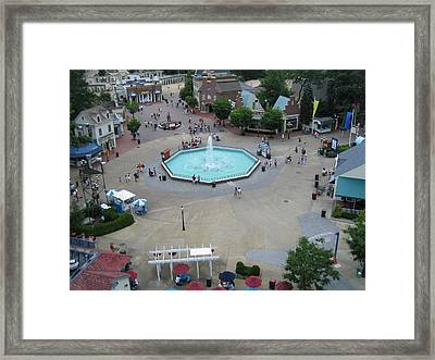 Six Flags Great Adventure - 12123 Framed Print by DC Photographer