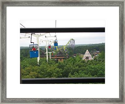 Six Flags Great Adventure - 12126 Framed Print