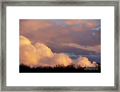 Sky Drama Framed Print by Thomas R Fletcher