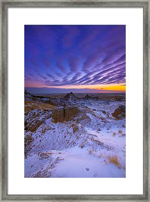 Framed Print featuring the photograph Sky Lines by Kadek Susanto