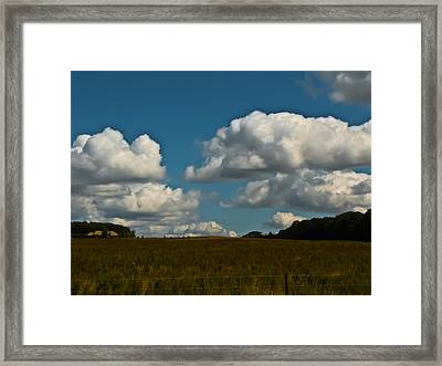 Sky Framed Print by Paulina Szajek