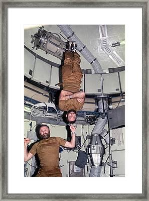 Skylab 4 Crew Framed Print